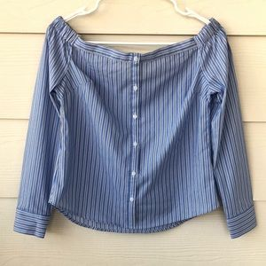 Express Strapless Blouse
